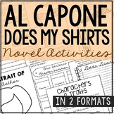 Al Capone Does My Shirts Novel Study Unit Activities, In 2 Formats