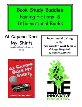 Al Capone Does My Shirts - Pairing Fiction and Informational Books