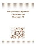 Al Capone Does My Shirts- Vocabulary Unit on Entire Novel