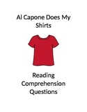 Al Capone Does my Shirts Reading Comprehension