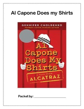 Al Capone Does my Shirts (novel study)