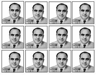Al Capone Mugshot Handout