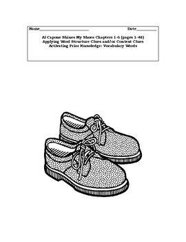 Al Capone Shines My Shoes:  Chapters 1-6 (Section1 of 5) PREVIEW