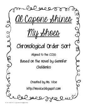 Al Capone Shines My Shoes Chronological Order Sort