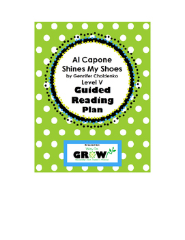 Al Capone Shines My Shoes Guided Reading Plan