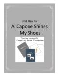 Al Capone Shines My Shoes Novel Unit Plus Grammar