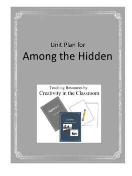 Among the Hidden Novel Unit Plus Grammar