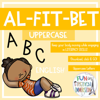 Al-FIT-Bet Upper & Lower Case Letters