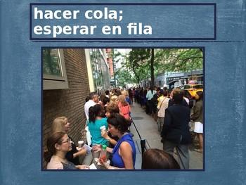 Al cine (Spanish movies) Vocabulary PowerPoint