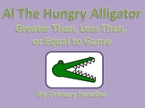 Greater Than, Less Than, or Equal to Game: Al the Hungry Alligator