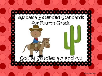 Ala Extended Standards 4th Grade Social Studies
