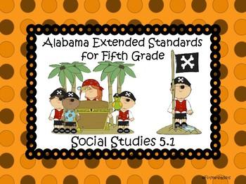 Ala Extended Standards 5th Grade Social Studies