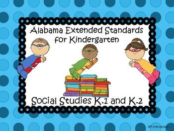 Ala Extended Standards K Social Studies