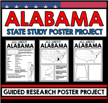 Alabama State Study - Facts and Information - Guided Research Project