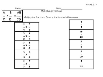 Alabama Alternate Achievement Standard Math 5.14