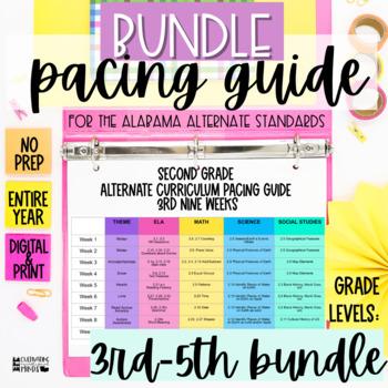Alabama Alternate Achievement Standards Curriculum Pacing Guide 3 5