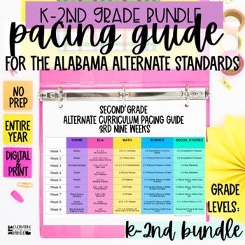 Alabama Alternate Achievement Standards Curriculum Pacing Guide K 2