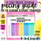 Alabama Alternate Achievement Standards Curriculum Pacing