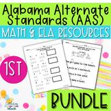 Alabama Alternate Achievement Standards First Grade Bundle
