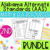 Alabama Alternate Achievement Standards Second Grade Bundl