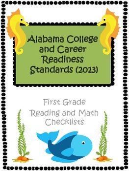 Alabama CCRS First Grade Checklist