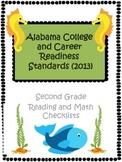 Alabama CCRS Second Grade Checklist