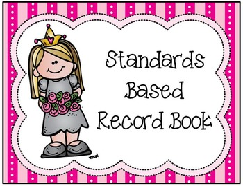 Alabama CCRS Standards Based Record Book-MCS Edition