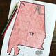 Alabama Coordinate Graphing Picture 1st Quadrant & ALL 4 Quadrants