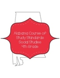 Alabama Course of Study Social Studies Standards