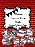Alabama Crimson and Houndstooth Class Theme Bundle