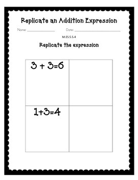 Alabama Extended Standard M.ES.5.5.2 Worksheets