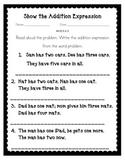 Simple Word Problem Worksheets