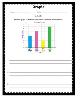 Alabama Extended Standard M.ES.6.4.4 Worksheets