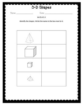 Alabama Extended Standard M.ES.6.5.3 Worksheets
