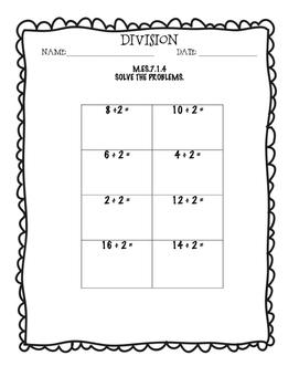 Alabama Extended Standard M.ES.7.1.4 Worksheets