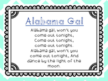 Alabama Gal: A Song to Teach syncopa and fa