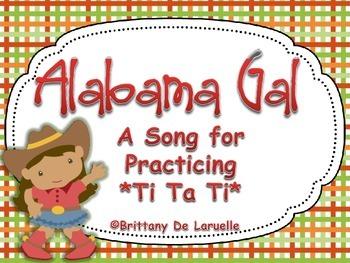 Alabama Gal - Ti Ta Ti, Syncopa