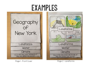 Alabama Geography Flipbook