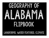 Alabama Geography Flipbook