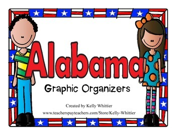 Alabama Graphic Organizers (Perfect for KWL charts and geo