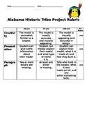 Alabama Historic Tribe Tee-pee Project Rubric