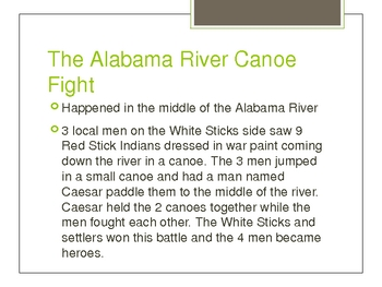 Alabama History Chapter 3 Powerpoint
