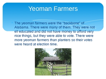 Alabama History Chapter 4 Powerpoint