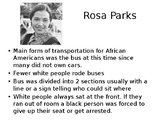 Alabama History-Civil Rights PPT