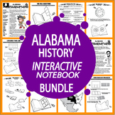 Alabama History 4th Grade State Study–ALL CONTENT INCLUDED