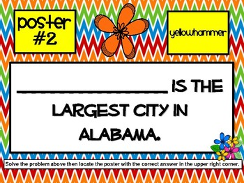 Alabama History Scavenger Hunt