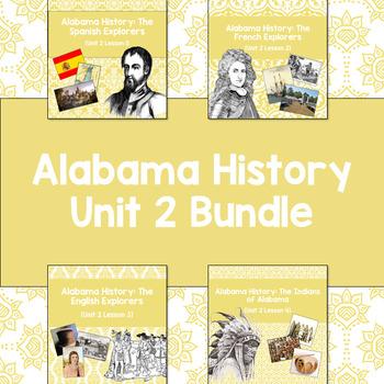 Alabama History: Unit 2 Bundle