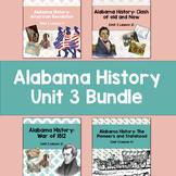 Alabama History: Unit 3 Bundle