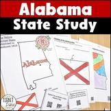 Alabama History and Symbols Unit Study with QR Codes
