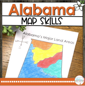 Alabama Map Skills